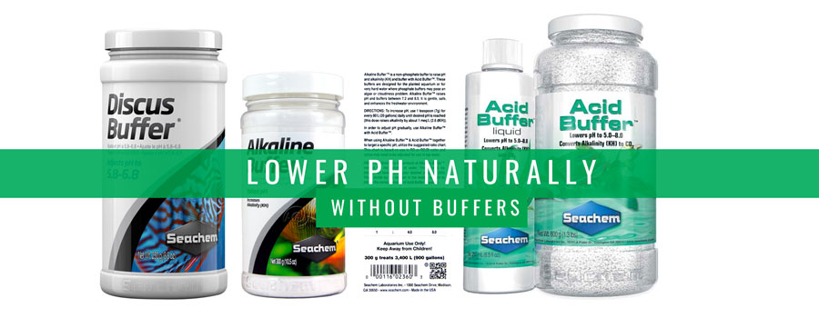 Lower Aquarium pH Naturally