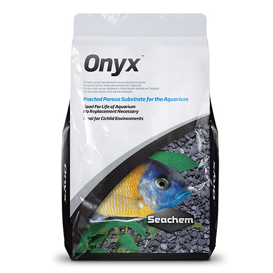 seachem onyx substrate, a substrate made specifically for cichlids