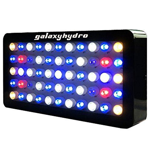 Galaxy Hydro LED lighting unit for saltwater aquarium. Great for corals and high growth.