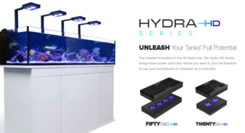 Hydra Illumination series, one of the best saltwater LED's on the market.