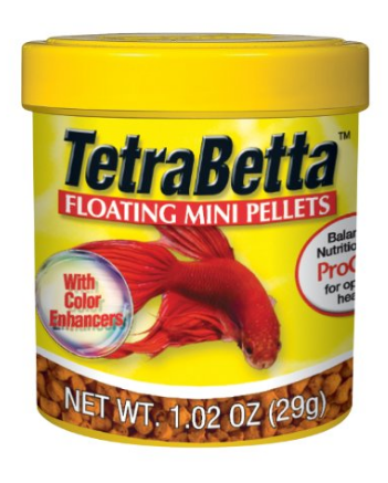 Tetra Betta Floating Mini Pellets for Betta