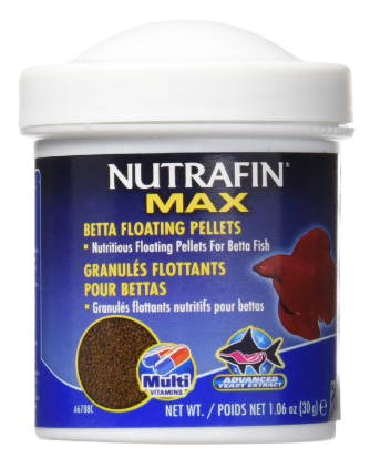 Nutrafin Max Betta Fish Food